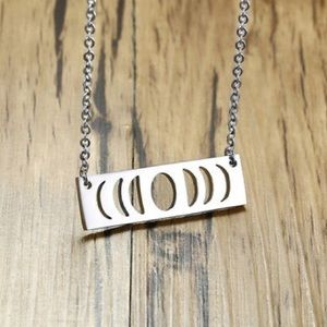 Jewelry - Stainless Moonphase Necklace